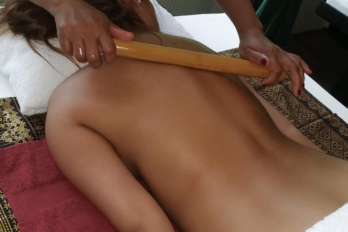 Bambus-Massage Suntrie